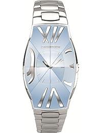 Chronotech NASA CT.7932L/01M - Reloj de mujer de cuarzo, correa de acero inoxidable color plata