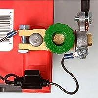 Lorsoul Coche automotor de la batería Terminal de Enlace rápido de Corte de aleación de Zinc