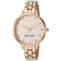 Nine West Women's Bracelet Watch Rose Gold