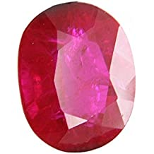 Parkash Bhagya Ratan Ruby/Manik Lab Certified 0.870 GMS, 4.35 Cts Best Ruby Natural Loose Gemstone