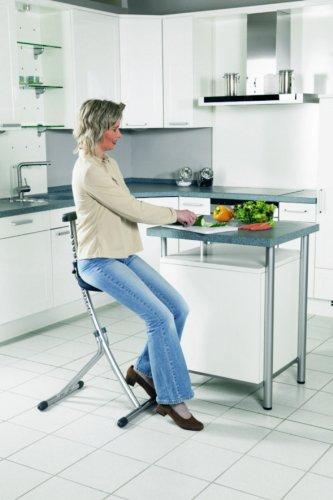 Rückenschonende Sitz- und Stehhilfe - 2