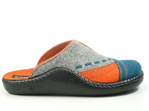 Romika Damen Mokasso 114 Pantoffeln Blau