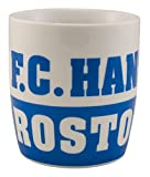 FC Hansa Rostock Tasse / Becher 'Rostock' Schriftzug Fanartikel