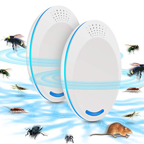 Repelente Ultrasónico de Plagas, Repelente electrónico de insectos Control Ultrasónico De Plagas,...