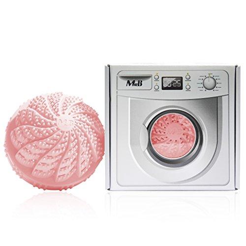 Bola de lavado biológica: lavar completamente sin detergente, ionizar con perlas de cerámica, antibacteriano, especialmente indicado para personas alérgicas y bebés