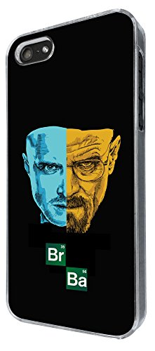 491 - Breaking bad Mr white Jessie Pinkman Br Ba Heisenberg Design iphone 5 5S Coque Fashion Trend Case Coque Protection Cover plastique et métal