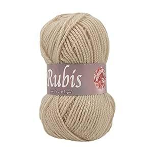 Distrifil - Pelote de laine à tricoter RUBIS - Distrifil - Marron 3057