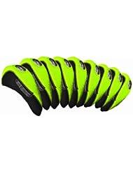 Longridge  - Funda para hierros de golf, color verde