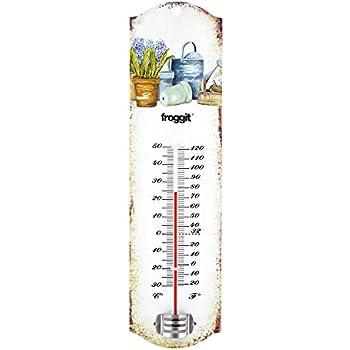 G2831 Gusseisen Gute QualitäT Fenster Thermometer In Nostalgieform Antikes Außenthermometer