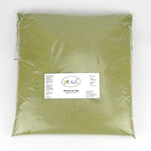 Sala Henna Pulver Rot 1000 g 1 kg -