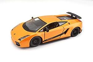 Bburago 18-22108, Lamborghini Gallardo Superleggera, Naranja , Modelos/colores Surtidos, 1 Unidad