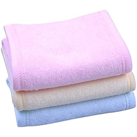 Vale® 3PCS diferentes colores suaves ajustables elástico de las mujeres Lavar la cara del maquillaje SPA estiramiento pelo de la venda de la