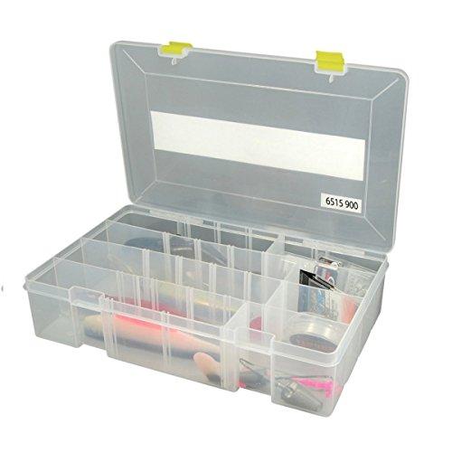 Spro Tackle Box 35,5x22x8cm - Tacklebox für Wobbler & Gummiköder, Köderbox für Blinker, Spinner & Gummifische, Kunstköderbox
