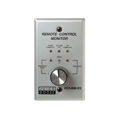 Juice Gans RC5wm-rs | Wand montiert Drehknopf-Fernbedienung für CQ Produkte -