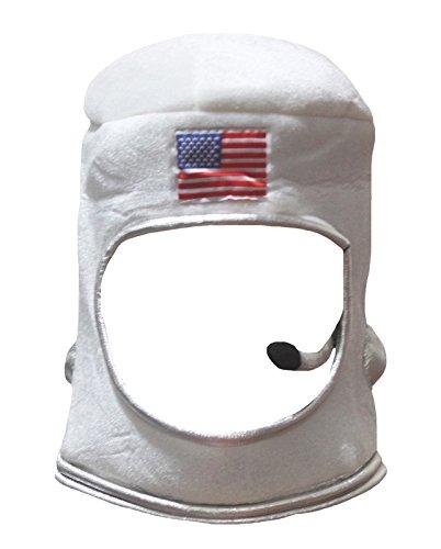 Petitebelle Vereinigte Staaten Astronaut Hat Unisex verkleiden Partei-Kostüm Kinder Einheitsgröße Weiß