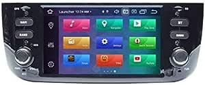 Android 9 0 Gps Usb Sd Wi Fi Bluetooth Mirrolink Autoradio Navigationssystem Für Fiat Punto Evo 2010