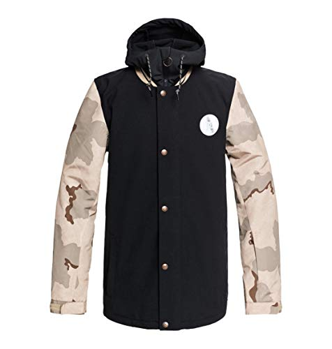 DC Apparel Herren DCLA Snow Jacket Incense dcu camo Men M