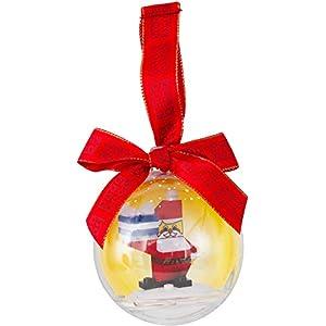 LEGO- EXC Pallina con Babbo Natale, 850850 0885478252003 LEGO