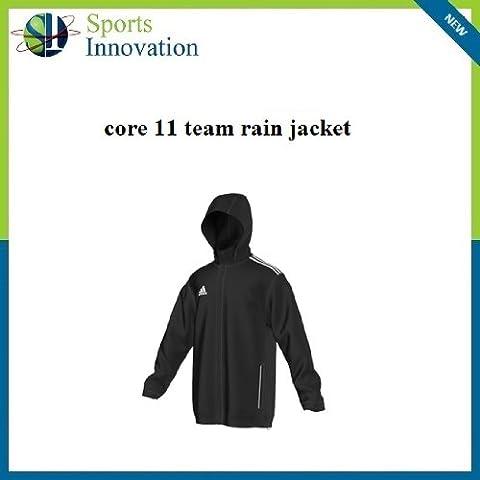 Adidas Core 11 chubasquero negro Negro negro Talla:XL