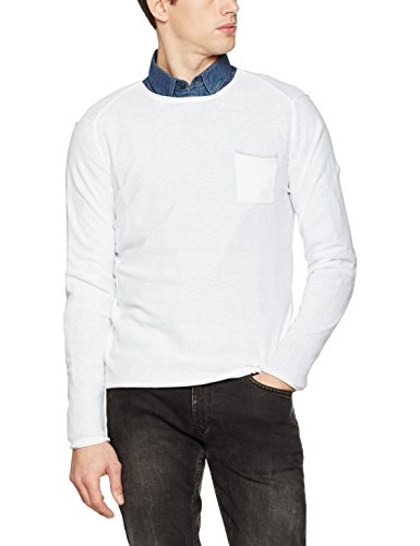 Karl Lagerfeld Herren Pullover Jens Weiß (Weiß 10)