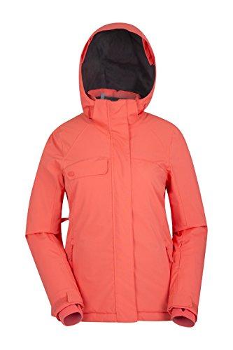 Mountain Warehouse Fresh Ice Damen-Skijacke Koralle DE 42 (EU 44) Isolierte Ski-mantel-frauen