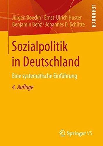 Sozialpolitik in Deutschland: Eine systematische Einführung