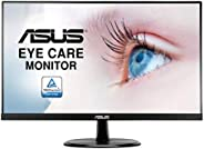 ASUS VP249HE monitor o przekątnej 60,45 cm (23,8 cala) (Full HD, IPS, GamePlus, Eye-Care, VGA, HDMI), czarny