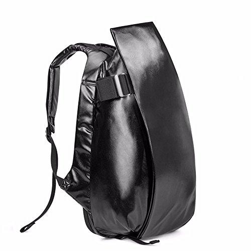 TBB-Rucksack Rucksack Reisen Outdoor Mode einfach Trend der großen Kapazität Computer Bag Large Black