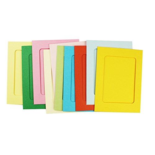 Luwu-Store Home Life aparatos de 15 cm Marco de Papel de Color / 10 Piezas