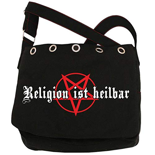 Schultertasche Religion ist heilbar
