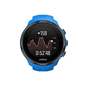 Suunto SS022663000 Spartan Sport Wrist HR - Multisport GPS watch, waterproof up to 100m, wrist heart rate monitor, color touch screen, Blue, One Size
