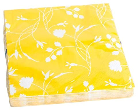 Amscan International RM551845 Yellow Luncheon Napkins