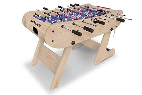 Riley Men's Azteca 4' Folding Football Table, Beech, 4 ft