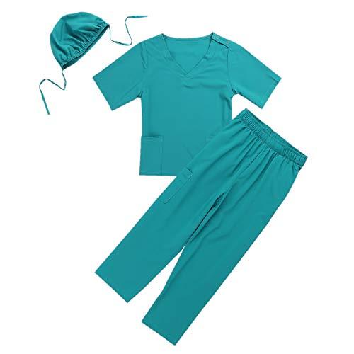 Doktor Kostüm Kinder - Alvivi Kinder Kostüm Unisex Arzt Ärztin