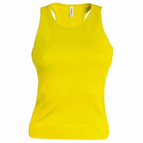 Kariban Damen Tanktop Gelb