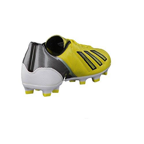 sports shoes e9706 1d7c3 ... adidas F30 Trx Fg Lea, Herren Fußballschuhe gelbschwarzweiß