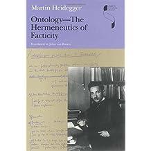 Ontology--The Hermeneutics of Facticity (Studies in Continental Thought) by Martin Heidegger (2008-08-18)