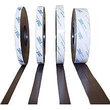 Neu! Magnetfolie 0,3mm x 620mm x Meterware weiß matt ANISOTROP Magnetband