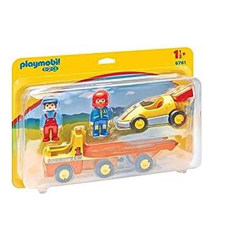 Playmobil 1.2.3 Coche de Carreras con Camión 6761