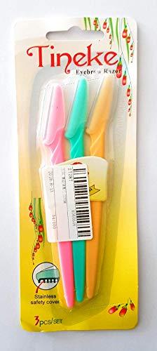 Cuchillas mujer cejas - Cuchilla cejas 3 colores recortadora
