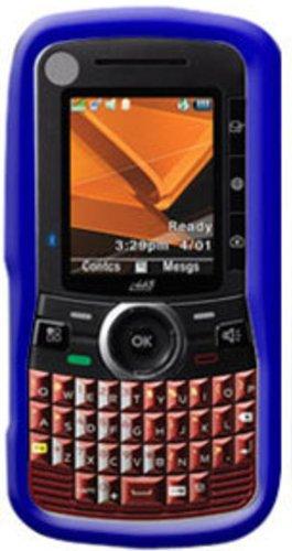 Amzer Silikonhülle für Nextel Motorola Clutch i465, Blau Nextel Motorola Clutch