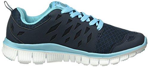 Blend Footwear, Baskets Basses Mixte Adulte Bleu - Bleu marine