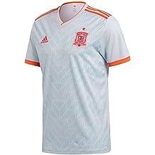 adidas Spain Away Replica Jersey Camiseta 140 Cuello de Pico Manga Corta Poliéster - Camisas y