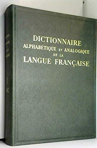 DICTIONNAIRE alphabétique et analogique de la LANGUE FRANCAISE. par ROBERT (PAUL)