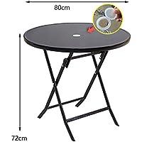 Yuan Table Jardín al Aire Libre - Mesa Plegable - Mesa de Picnic - Camping pequeño Plegable Cuadrado - Comedor y estación de Trabajo informática para café y té/Desk (Color : B)