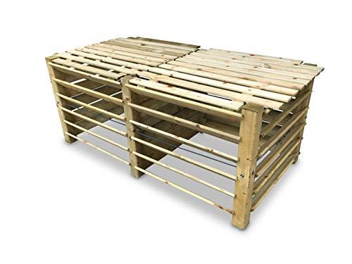 und Gartenabfälle Composter Metallkomposter Kompostbehälter Kompostsilo Kompost meets-ecommerce Steckkomposter Bio-Komposter für Küchen Komposter 100x110x110 cm verzinkt HOME
