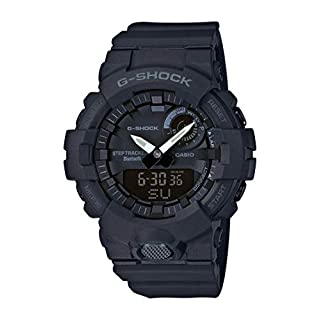 CASIO Herren Analog-Digital Quarz Uhr mit Harz Armband GBA-800-1AER