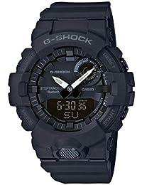 Casio G-SHOCK Reloj Digital, Contador de pasos, Sensor de movimiento, Aplicación de deporte gratuita para descargar, 20 BAR, Negro, para Hombre, GBA-800-1AER