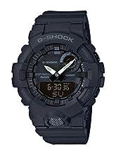 Casio G-SHOCK Orologio, Steptracker/Pedometro, Sensore di movimento, 20 BAR, Nero, Analogico - Digitale, Uomo, GBA-800-1AER
