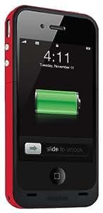 Mophie Juice Pack Plus pour iPhone 4, Edition (Red): Protection Rigide Avec 2000mAh Batterie Intégrée